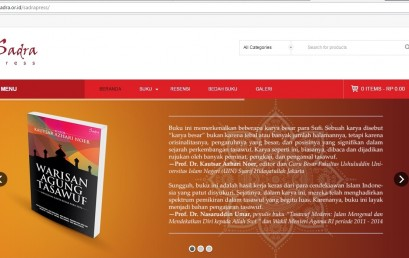 Website Sadra Press Resmi Dilaunching